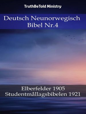 cover image of Deutsch Neunorwegisch Bibel Nr.4