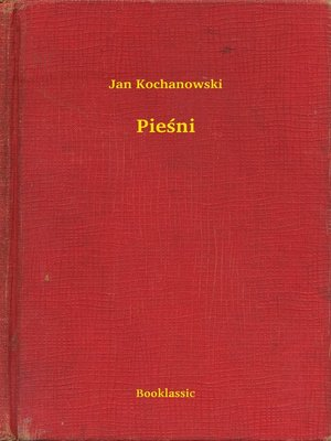 cover image of Pieśni