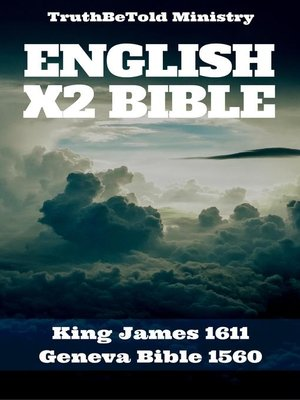 cover image of English X2 Bible