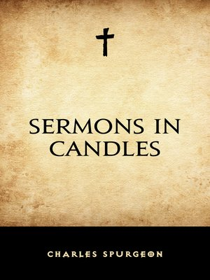 cover image of Sermons in Candles