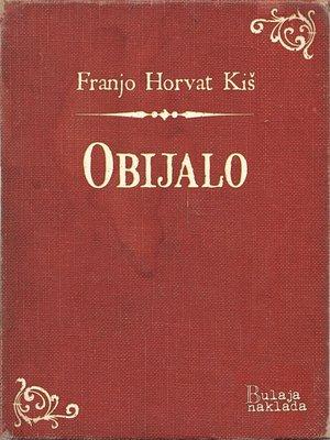 cover image of Obijalo