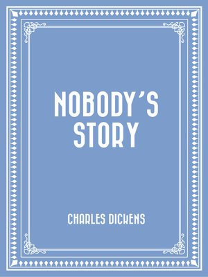 cover image of Nobody's Story