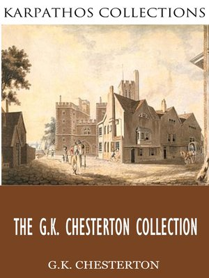 cover image of The G.K. Chesterton Collection