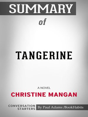 cover image of Summary of Tangerine