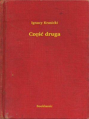 cover image of Część druga