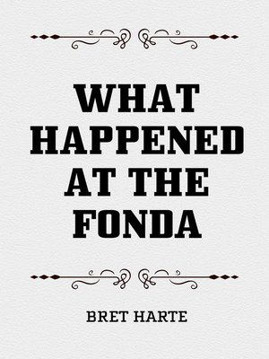 cover image of What Happened at the Fonda