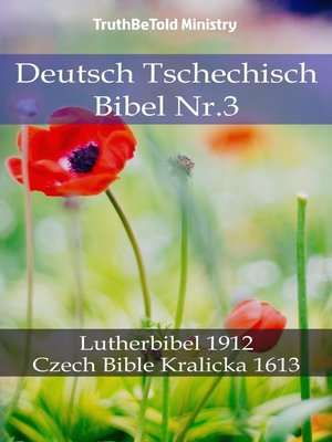 cover image of Deutsch Tschechisch Bibel Nr.3