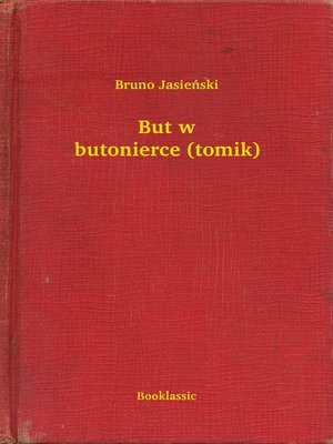 cover image of But w butonierce (tomik)