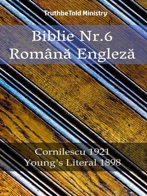 cover image of Biblie Nr.6 Română Engleză