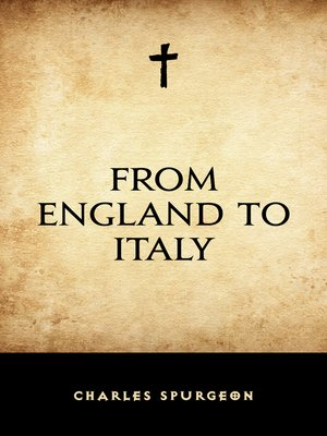 cover image of From England to Italy