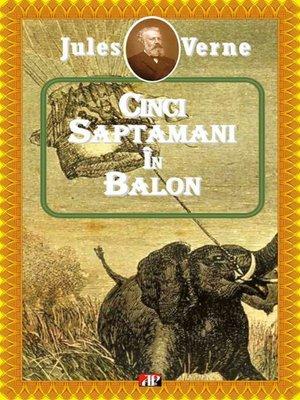 cover image of Cinci săptămâni în balon