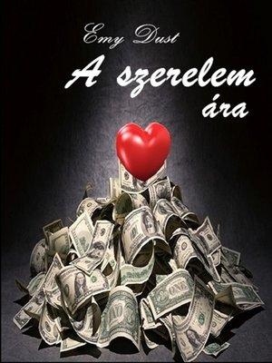 cover image of A szerelem ára