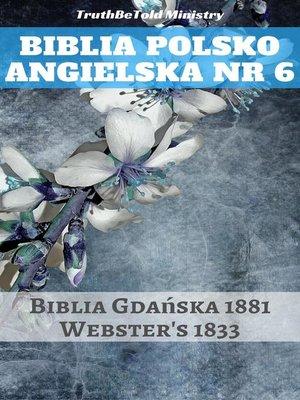 cover image of Biblia Polsko Angielska Nr 6