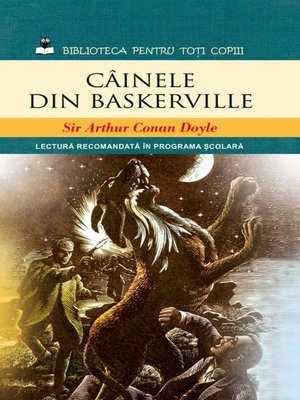 cover image of Câinele din Baskerville