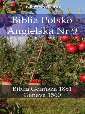 cover image of Biblia Polsko Angielska Nr 9