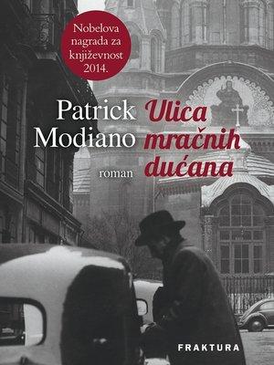 cover image of Ulica mračnih dućana