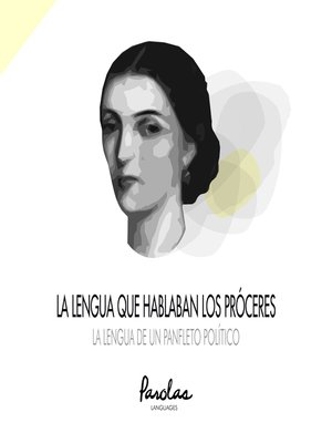 cover image of La lengua de un panfleto político