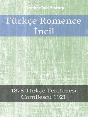 cover image of Türkçe Romence İncil