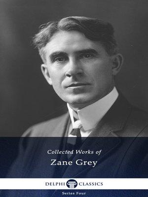 cover image of Delphi Works of Zane Grey US
