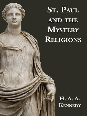 cover image of St Paul and the Mystery Religions