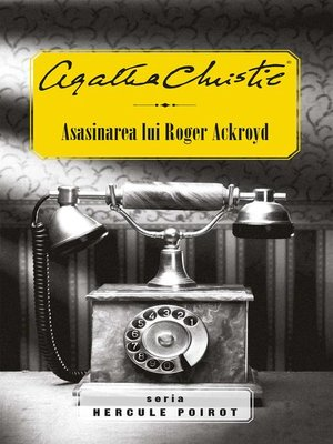 cover image of Asasinarea lui Roger Ackroyd