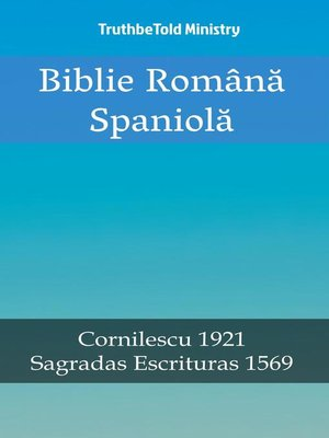 cover image of Biblie Română Spaniolă
