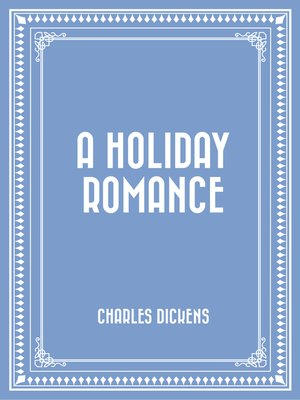 cover image of A Holiday Romance