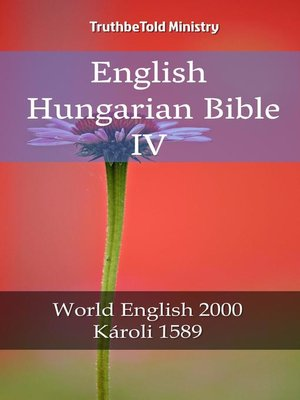 cover image of English Hungarian Bible IV