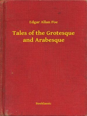 cover image of Tales of the Grotesque and Arabesque