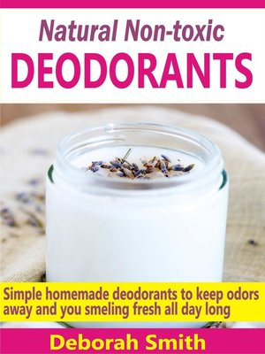 cover image of Natural Non-toxic Deodorants