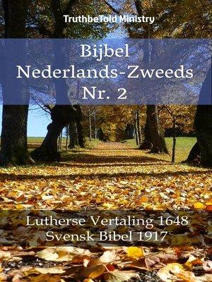 cover image of Bijbel Nederlands-Zweeds Nr. 2