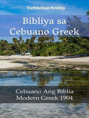 cover image of Bibliya sa Cebuano Greek