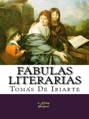 cover image of Fábulas Literarias