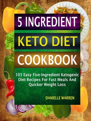 cover image of 5 Ingredient Keto Diet Cookbook