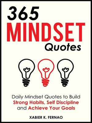 cover image of 365 Mindset Quotes