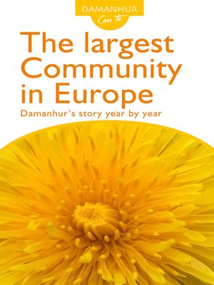 cover image of The largest Community in Europe