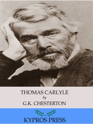 cover image of Thomas Carlyle