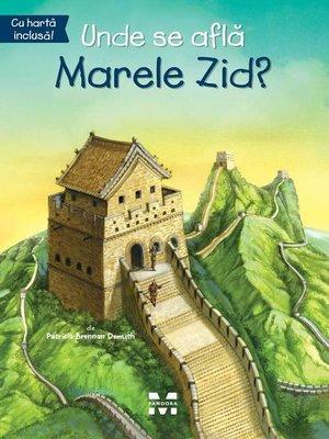 cover image of Unde se află Marele Zid?