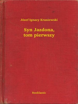 cover image of Syn Jazdona, tom pierwszy