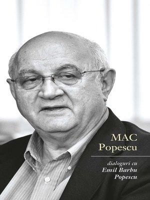 cover image of Dialoguri cu Emil Barbu Popescu