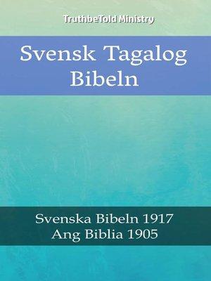cover image of Svensk Tagalog Bibeln