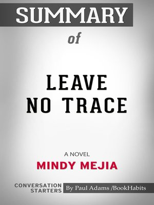 cover image of Summary of Leave No Trace: A Novel