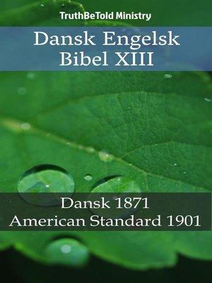 cover image of Dansk Engelsk Bibel XIII