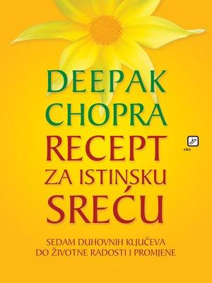 cover image of Recept za istinsku sreću