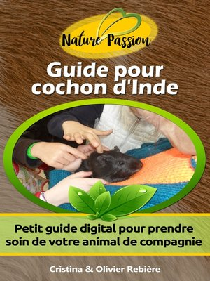 cover image of Guide pour cochon d'Inde