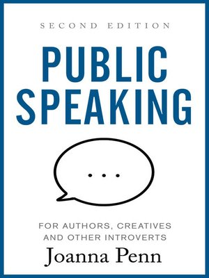cover image of Public Speaking for Authors, Creatives and Other Introverts
