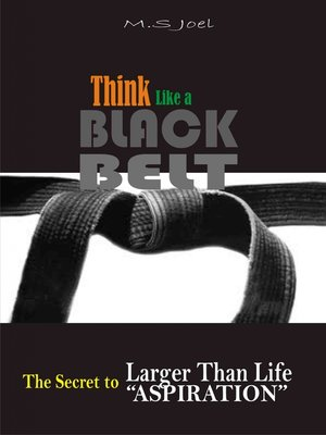 cover image of Think Like a Black Belt