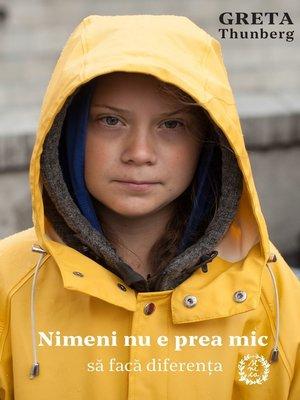 cover image of Nimeni nu e prea mic să facă diferența
