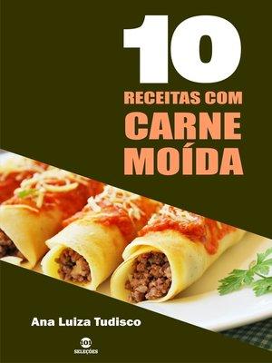 cover image of 10 Receitas com carne moída