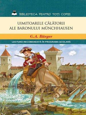 cover image of Uimitoarele călătorii ale baronului Münchhausen